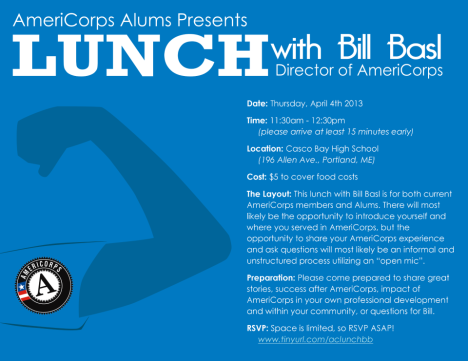 Lunch with Bill Basl invite